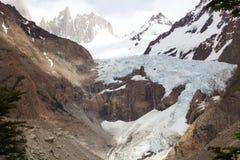 Supporto Poicenot al parco nazionale di Los Glaciares, Argentina Fotografia Stock