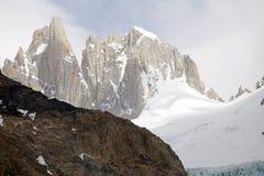 Supporto Poicenot al parco nazionale di Los Glaciares, Argentina Immagine Stock