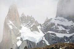 Supporto Poicenot al parco nazionale di Los Glaciares, Argentina Fotografie Stock Libere da Diritti