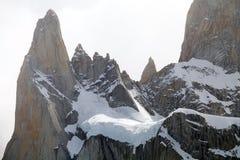 Supporto Poicenot al parco nazionale di Los Glaciares, Argentina Immagini Stock