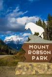 Supporto Robson fotografie stock