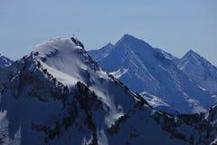 Supporto Rophaien, alpi svizzere Immagini Stock