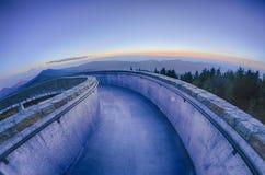 Supporto superiore mitchell prima del tramonto fotografia stock libera da diritti