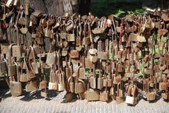 Supporto tai chiuso a chiave Fotografie Stock Libere da Diritti