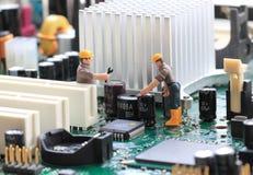 Supporto tecnico Fotografie Stock