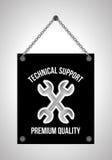 Supporto tecnico Fotografia Stock