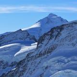 Supporto Tschingelhorn visto da Jungfraujoch, Svizzera Fotografia Stock Libera da Diritti