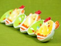 Supporto variopinto delle uova di Pasqua Fotografie Stock Libere da Diritti