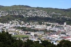 Supporto Victoria al campo di cricket di Wellington Basin Fotografia Stock Libera da Diritti