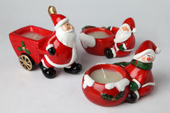 Supports de bougie pour Noël 4 Image libre de droits