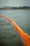 Supports de Pensacola pour la flaque de pétrole de point d'ébullition Photo libre de droits