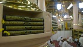 Supports pour des copies de Coran Image libre de droits
