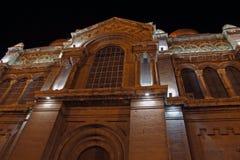 Supposition de rue de cathédrale de Varna Photo libre de droits