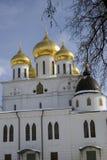 1507 1533 suppositions ont établi des ans de cathédrale Kremlin dans Dmitrov, ville antique dans la région de Moscou Photos stock