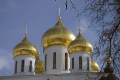 1507 1533 suppositions ont établi des ans de cathédrale Kremlin dans Dmitrov, ville antique dans la région de Moscou Images libres de droits