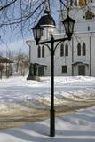 1507 1533 suppositions ont établi des ans de cathédrale Kremlin dans Dmitrov, ville antique dans la région de Moscou Photo stock