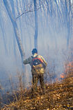 Suppression de l'incendie de forêt 95 Photos libres de droits