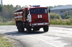 Suppression des incendies et aide aux victimes de mine Image libre de droits