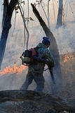 Suppression of Forest Fire 13 Stock Image