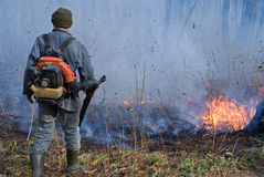 Suppression of Forest Fire 46 Stock Photos