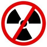 Suppression progressive et discontinuation d'énergie atomique et nucléaire illustration libre de droits