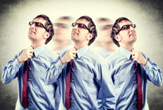 Suppression of tie Stock Photography