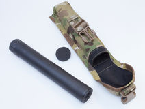 Suppressor and kit Royalty Free Stock Image