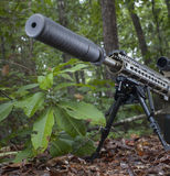Suppressor Stock Photography