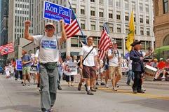 Supproters van Paul van Ron Stock Afbeelding