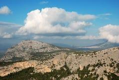 Supramonte in sardinia. Mountain of sardinia's island called supramonte Royalty Free Stock Images
