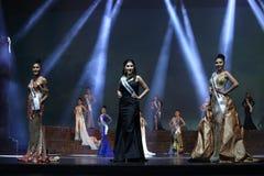 Supranational大阶段的a泰国小姐最后的回合2017年 图库摄影