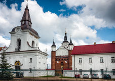 Suprasl Bell Tower and Orthodox Monastery Royalty Free Stock Photos