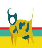 Suprematism krowy ilustracja Zdjęcie Royalty Free