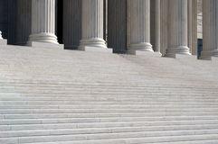 Supreme Court. United States Supreme Court steps Royalty Free Stock Images