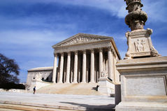 Supreme Court. The Supreme Court of the United States in Washington DC royalty free stock photography