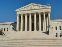Supreme Court. Of the United States in Washington, D.C Stock Image
