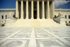 Supreme court. Us supreme court in washington dc Royalty Free Stock Photography