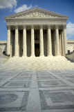 Supreme court. Us supreme court in washington dc Royalty Free Stock Images