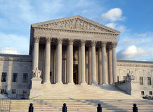 Supreme Court Afternoon Royalty Free Stock Photo