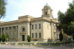 Supreme court, Bloemfontein, South Africa. Supreme court, built with sandstone, Bloemfontein, South Africa Stock Photo