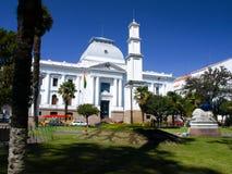 Supreme Court of Bolivia in Sucre Stock Photo