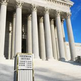 The Supreme Court building Stock Photos