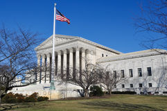 Supreme Court Building Royalty Free Stock Photos