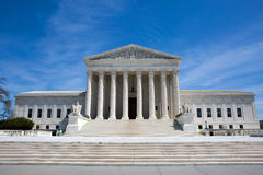 Supreme Court Building USA. Supreme Court building in the United States of America is located in Washington, D.C., USA royalty free stock photos