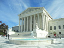 Supreme Court Building. Washington D.C. United States Supreme Court Building Royalty Free Stock Photography