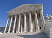 Supreme Court Building Washington DC Royalty Free Stock Photography