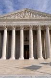 Supreme Court Building in Washington DC Royalty Free Stock Photography