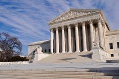 Supreme Court Building in Washington DC Stock Photo