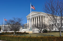 Supreme Court Building Stock Photography
