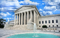 Supreme Court Building. Washington Supreme Court building in Washington DC Royalty Free Stock Photos